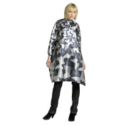Andre Camo Styling Cape, Grey