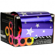 Foil It Paparazzi Purple Stars Large Foil Roll - 490m