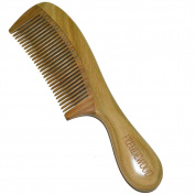 FREUDEWOOD Handmade 100% Sandalwood Wood Comb 19cm X 4.6cm