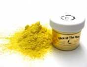 Flashing Yellow Mica Powder 30ml, Metallic Yellow Powder, Slice of the Moon
