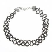 Eforstore Retro Stretch Henna Tattoo Choker Collar Necklace Gothic Punk Necklaces for Women Teens Girls