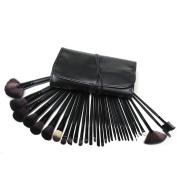 Lychee® Beautiful 32pcs Cosmetic Makeup Makeup Brush Set with Free Bag