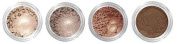 Grace My Face Minerals Glamour Quad Eye Shadow, All That Brown
