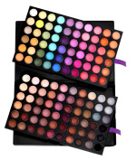 SHANY Ultimate Fusion Eyeshadow Palette (120 Colour Eyeshadow Palette, Natural Nude and Neon Combination), Net Wt. 120g