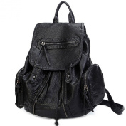 Catkit Vintage Womens Girls Tote Handbag Travel Shoulder Backpack Bag