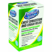 Premier Value Chest Congestion Relief Dm - 50ct