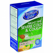 Premier Value Nitetime Severe Cold & Cough - 6ct