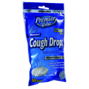Premier Value Cough Drops Menthol - 40ct