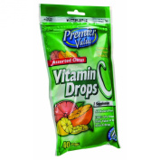Premier Value Cough Drops Vitamin C - 40ct