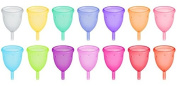 Size 2 (Large) - Reusable Menstrual Cup - Pink