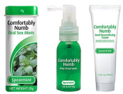 Comfortably Numb Spearmint Flavoured Pleasure Kit