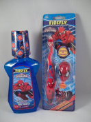 Firefly Spider-man 2 Pc Bundle - Bubblegum Mouthwash & Toothbrush w/ Cap