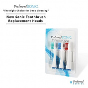 Preferred Sonic Toothbrush Replacement Heads