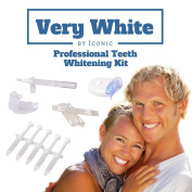 #1 Dr. Rated Best Professional Brilliant Bright Smile Teeth Whitening At Home Kit. Bonus Free Teeth Whitener Pen ($15 Value) 44% Carbaminde Peroxide in Our Teeth-Whitening Gel. 5 XL Syringe, 1 LED Light, 1 Extra Soft Power Tray, 5 Vitamin E Swabs and 5 ..