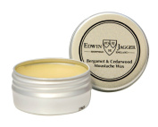 EDWIN JAGGER Bergamot and Cedarwood Moustache Wax Pomade Tin 15ml 0.5fl oz