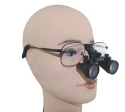 3.5X Magnification 360-460mm Working Distance Binocular Dental Optical Loupes Surgical Medical Use