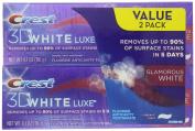 Crest Jumbo Size Pack 3d White Luxe Glamorous White Toothpaste, Vibrant Mint, All New Mega Pack 10 Pack, 120ml Tubes