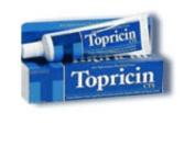 Topricin Anti-Inflammatory Pain Relief Cream - 60ml