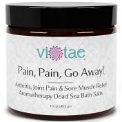 """Pain Pain Go Away"" - Arthritis, Joint Pain & Sore Muscle Relief Aromatherapy Dead Sea Bath Salts"