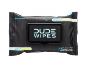 Dude Wipes Flushable Wipes, Unscented & Naturally Soothing, Dispenser Pack