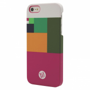 BluDot Colour Block Cell Phone Case for iPhone 5/5s - Multicolor