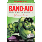Band-Aid Marvel Avengers Assemble Assorted Adhesive Bandages, 20 Count