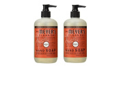 Mrs Meyers Hand Soap, Radish Scent, 370ml 2 Pack