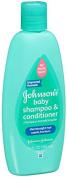 Johnson's Baby No More Tears/Tangles Shampoo Conditioner, Thin/Straight Hair, 380ml
