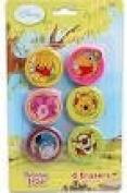 Winnie the Pooh 6-ct Erasers