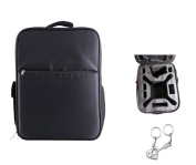 Waterproof Universal Double Shoulder Casual Backpack Carrying Bag Outfield Bag Case for DJI Phantom 3 PRO + Blueskysea Free Gift Keychain