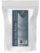 Zinc Oxide Powder - Non-Nano and Uncoated, High-Purity, Pharmaceutical Grade Zinc French Processed Powder is Perfect for Making Sunscreen, Sunblock, Home-Made Deodorant, Soap, Mineral Make Up, Baby Powder, Nappy Rash Cream, Acne Cream, etc. - Professi ..