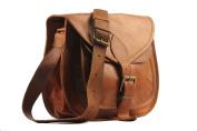 Handolederco. 28cm X 23cm Brown ,Genuine Leather Women's Bag /Handbag / Tote/purse/ Shopping Bag