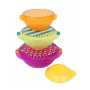 Sassy On-the-Go Snack Bowl Set - Multicolor
