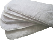 See Nappies 6 Pack 100% Microfiber Inserts for Baby Cloth Nappies Reusable 36cm X 13cm