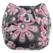 Blueberry Simplex All In One Nappy, Petals, One Size