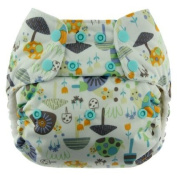 Blueberry Simplex All In One Nappy, Snails, One Size