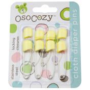 OsoCozy Nappy Pins, Yellow