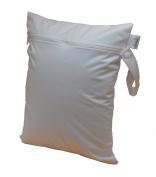 CutieTots Wet Bag - White