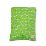 Itzy Ritzy Travel Happens Sealed Wet Bag, Emerald Trellis, Medium
