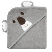 Luvable Friends Animal Face Hooded Towel, Koala