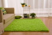 Newrara Super Soft 4.5 Cm Thick Modern Shag Area Rugs Living Room Carpet Bedroom Rug for Children's Play Rug Floor Rug Nursery Rug 1.2m By 1.5m
