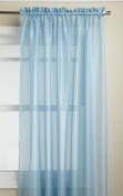 Lorraine Home Fashions Reverie 150cm x 210cm Tailored Panel, Blue