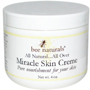 Bee Naturals Miracle Skin Creme - All Natural Skin Cream - Pure Nourishment for Your Skin