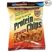 Kay's Naturals Protein Chips, Crispy Parmesan, 35ml Bags