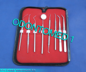 8 PCS DENTAL DENTIST PICK TOOL KIT SURGICAL DENTAL INSTRUMENTS