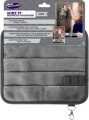 Magnetic Kitchen Fridge Organiser for Receipts, Menus, Notes, Keys and More! - Grey