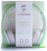 LilGadgets Connect+ Volume Limited Wired Headphones for Children