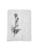 Jewellery Gift Bags Silver Print 18cm x 13cm