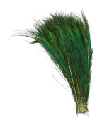 "KAYSO INC Natural Peacock ""Sword"" Feathers 25cm - 36cm Length"