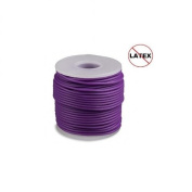Round Rubber Cord Purple 2mm 10 metres / 10.9 Yards.